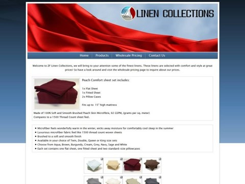ZF Linen Collections